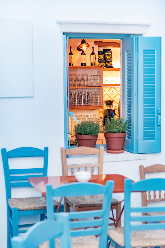 LOCAL FOOD IN TINOS-ATHMAR- PYRGOS