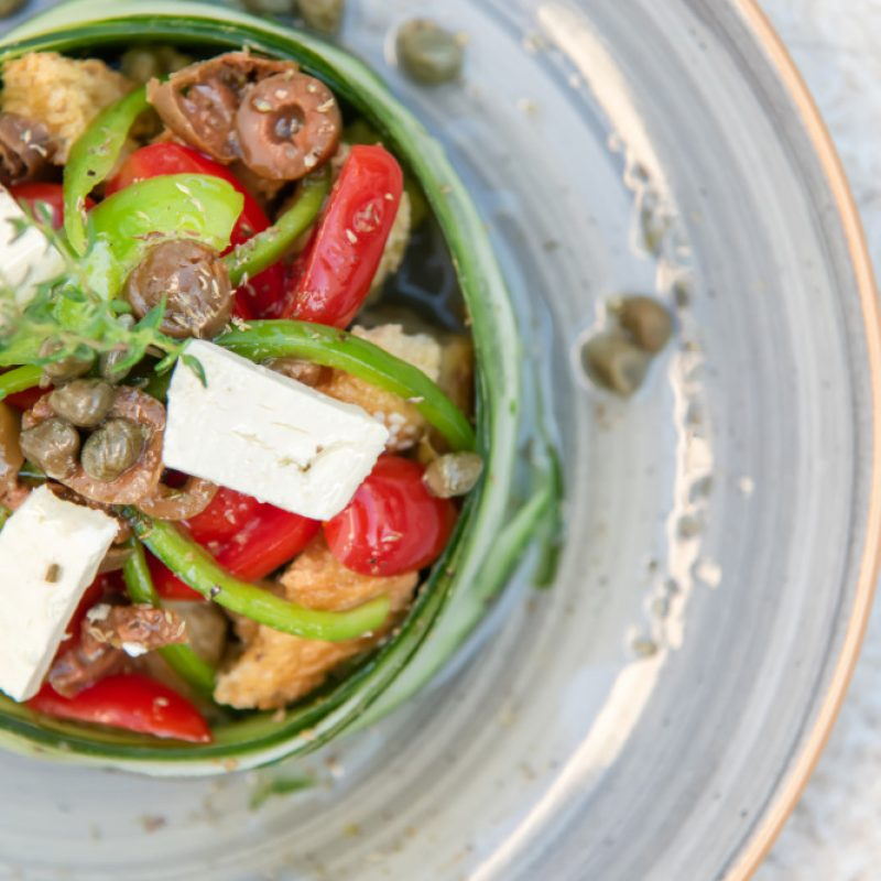 LOCAL FOOD IN TINOS-ATHMAR-PYRGOS
